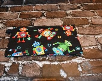 Robots Zipper Bag