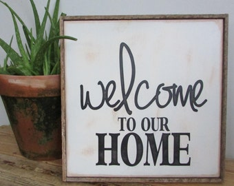 Wood Subway Sign and front door sign for your home