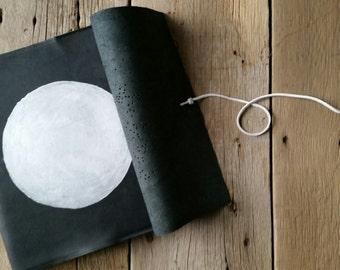 Constellation Leather Sketchbook. The Stargazer.
