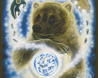 Brown Bear Earthkeeper Print
