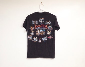 Vintage 1990s Famous Drums Worn In Soft T-Shirt