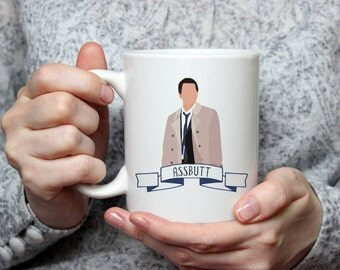 Assbutt | Castiel | Cas | Supernatural | Angel | Coffee Mug