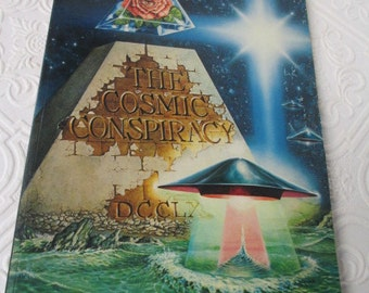 The COSMIC CONSPIRACY by Stan Deyo - Conspiracy Theories Aliens UFO Vintage Book 1983