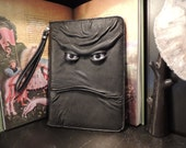 """IPad Pro 9.7"""" Cover(Black leather with Grey Eyes)"""