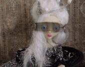 Shade Masquerade Christmas party rococo Art Doll OOAK LuLusApple