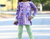 Sew Like My Mom Posey Tunic PDF pattern 12m - 8, Girls Long Sleeve Tunic