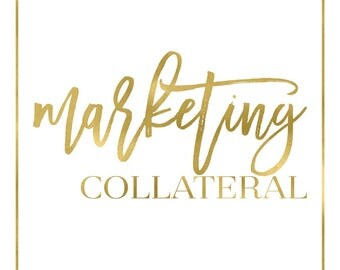 Marketing collateral and promotional materials - build your branding package