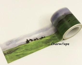 Grassland Washi Tape Super-Wide 40mm x 5m WT963