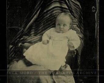 Great Hidden Mother Photo- Antique Tintype
