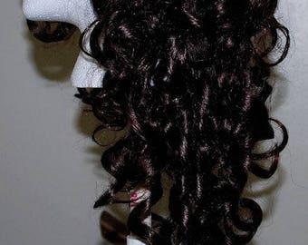 Dark Brown Curly Lolita Wig