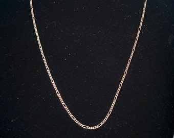 Vintage 925 Sterling Chain Figaro Style Link