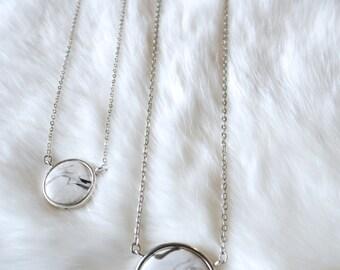Ivory Marble circle