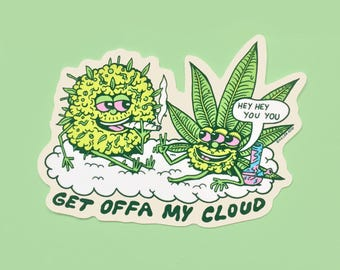 Get Offa My Cloud sticker