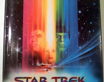 Star Trek The Motion Picture Hardback Book, Book Club Edition