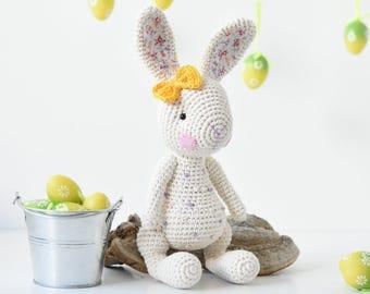 PATTERN - Candy bunny - crochet pattern, amigurumi pattern, PDF