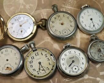 1 Vintage Incomplete Pocket Watch