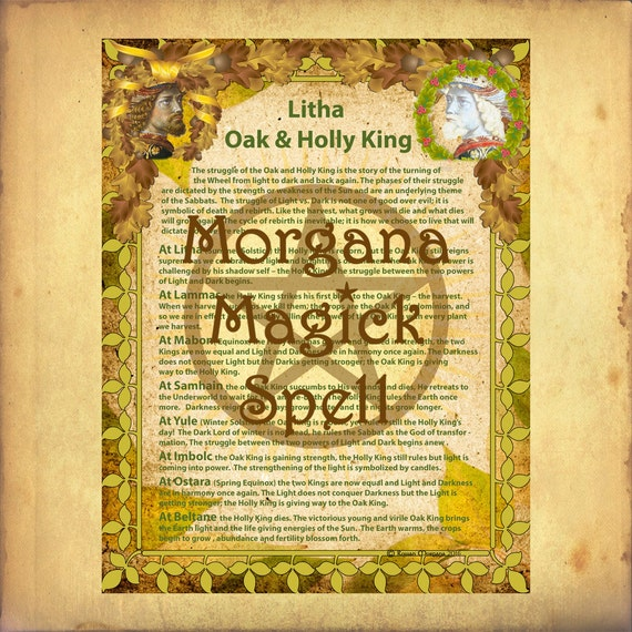 Litha Holly & Oak King