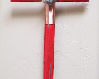 Rustic Cross ~ Southwest Decor ~ Saguaro Cactus Cross ~ Wood Cross ~ Rustic Decor ~  Western Cross ~ Christian Gift ~ Tucson Arizona