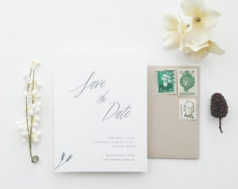 Erin Wedding Save the Date - Sample