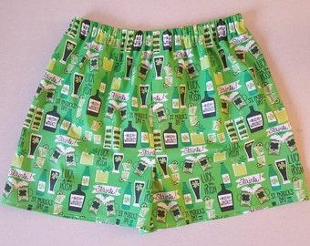 Men's St. Patrick's Day Boxer Shorts