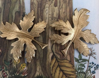 Whimsical Woodland Leaf (2pc)