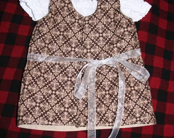 Infant Medieval Renaissance costume girls size 0-3 months baby
