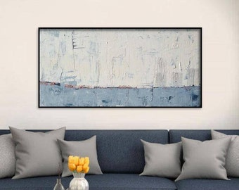 ON SALE 60x30 Inch Extra Large Abstract Painting. Extra Large Wall Art. Large Abstract Painting. XL Abstract Art. xl Painting. Wall Art