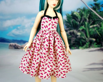 Delf Feeple 60 Watermelon Halter Dress For SD BJD