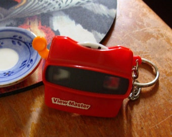 Miniature View Master From 1997, For your Keychain, One Disc
