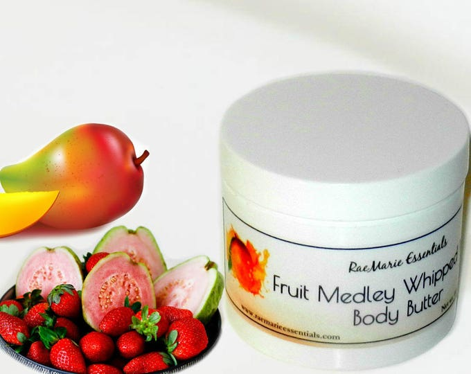 Featured listing image: New Fruit Medley Whipped Mango Body Butter