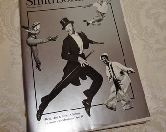 Smithsonian Magazine 1996 Salute to American Musicals National Air and Space Museum