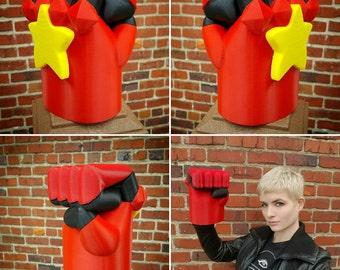 Garnet's Gauntlets 3D Printed Steven Universe Fan Art