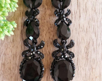 BRIDAL EARRINGS | Ideal for Your Wedding, Bridesmaid, Bridesmaid Gift, Party Earrings, Bridal Earrings, Bride, Earrings, Chandelier earrings