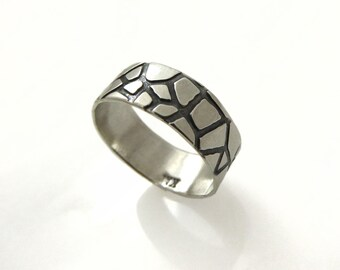 Wedding ring. Silver wedding ring. mens wedding ring. . Wedding band. Sterling silver wedding band (gr9433-2019).