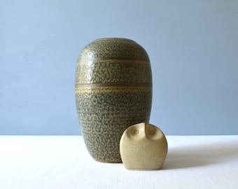 Vintage Studio Pottery Vase - Signed Walsh