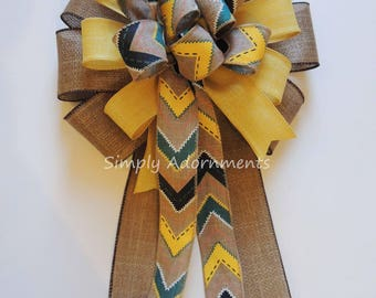 Teepee Party Decoration Teepee Birthday Party Decor Native American Themed Party Decoration Teepee Decor Bow Tribal Birthday Decor Gift bow