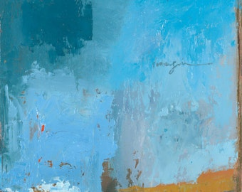 Imagine ~ Original Contemporary Abstract Western Landscape Painting