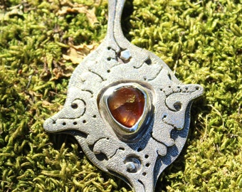 Sterling silver fire agate - Todos/All -