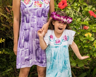 Matching dresses - mother daughter outfit -  mother daughter dress - mother daughter tunics - matching outfits - plus size dress