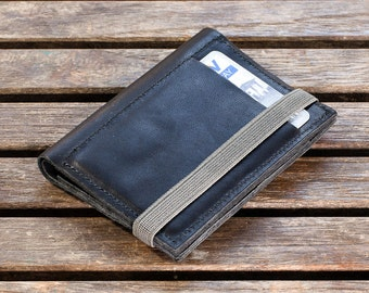 Slim Leather Wallet, Minimalist Wallet, Leather Wallet, Slim Wallet, For Him