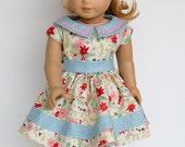 1950 Dress-18 Inch Doll