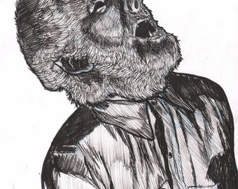 Wolf Man- Monsters Series
