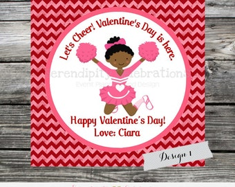 Printable Valentine Cards, cheer Valentine's Day Card, Classroom Cards, Valentine's Day,  Kids Valentine Cards, DIY cheer Valentine Cards