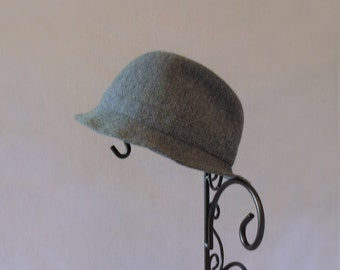 Blue Grey Tweed Squire's Hat