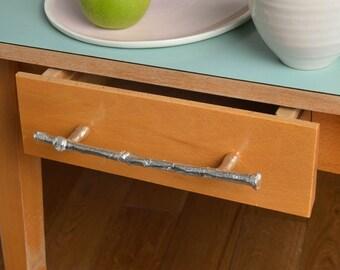 Sapling Twig Cupboard Handles Drawer Pulls Pewter Door Handles