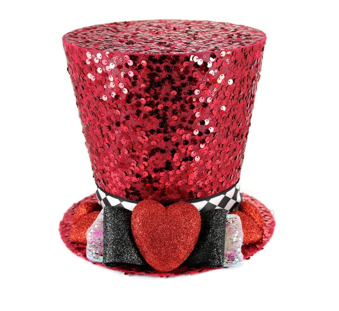 Valentines Day, Valentine decor, Valentines day, Top hat, Hearts ...