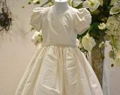 First Communion Dress, Holy Communion Dress, Heirloom Communion Dress, 1st Communion Dress, Flower Girl Dress, Easter Dress, Birthday Dress