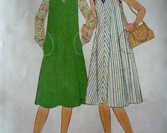 1977 Simplicity dress sewing pattern