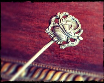 Antique Chinese Hairpin - Antique Silver Hairpin from China