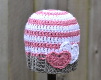 Hearts and Stripes Hat Ready to Ship